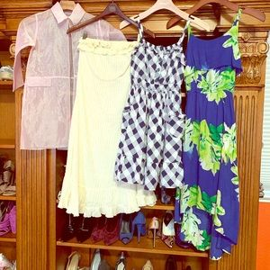 Bundle of 4 dresses for a 👧